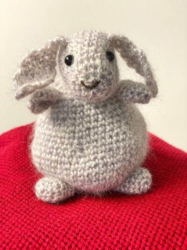 Crochet Bunny Bean Bag Pattern by Snowsnuggle