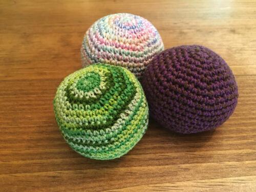 Crochet Hacky Sack Pattern by TwigCastleCreations