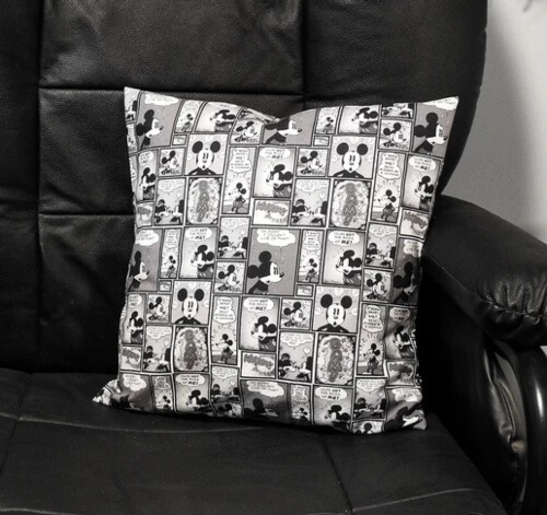 Easy Pillow Slip Cover from Geeky McGeekerson