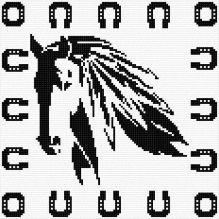 Free Horse Cross Stitch Pattern from CrossStitchPatterns.net