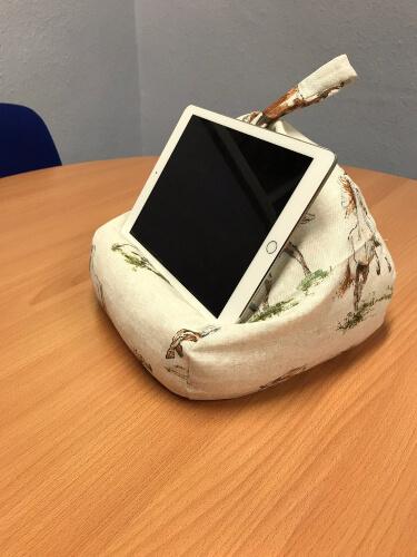 IPad Pyramid Bean Bag Pattern by CutoutsbyChris