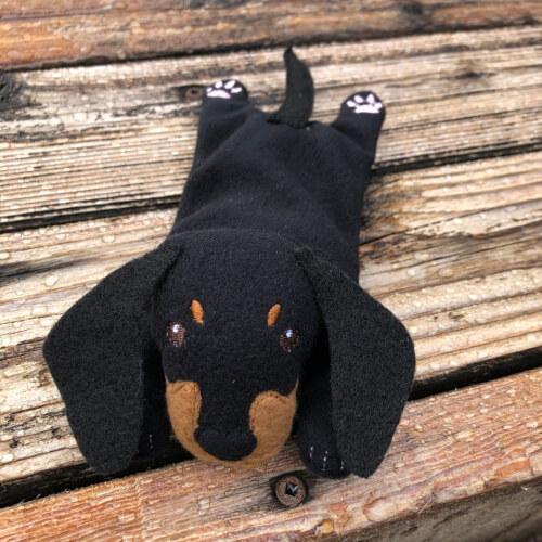 ITH Dachshund Bean bag embroidery by Snugglepuppydesign