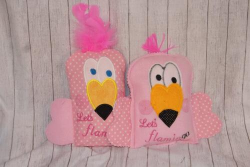 In The Hoop Flamingo Rice Pack Pattern by Littlegramsshop