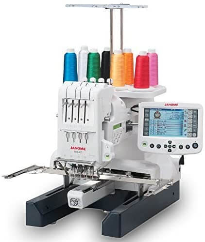 Janome MB-4S Commercial 4 Needle Embroidery Machine