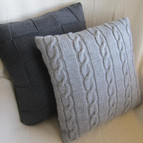 Knit Pillowcase Pattern by ByLadyshipDesigns