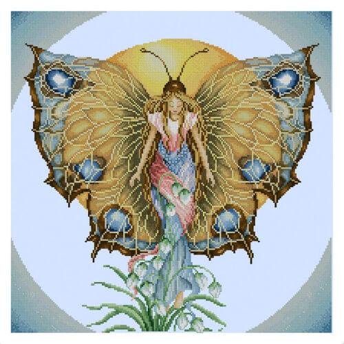 Lanarte Butterfly Cross Stitch Pattern from YourFavoriteStitch