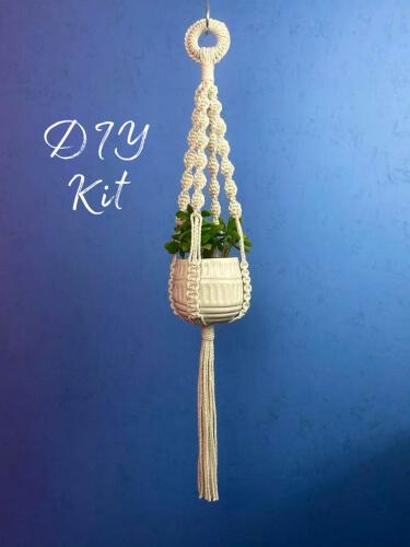 Macrame DIY Plant Hanger Kit from HandmadebyHensUK