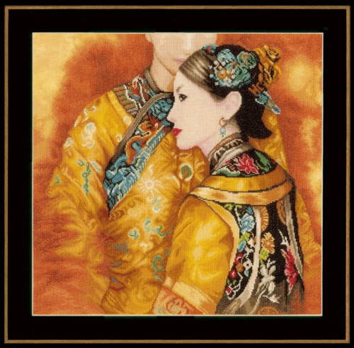 Oriental Couple Lanarte Counted Cross Stitch Kit from CraftmarShop