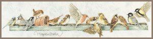 Pecking Order LanArte (the Art of Stitching) by ©Marjolein Bastin