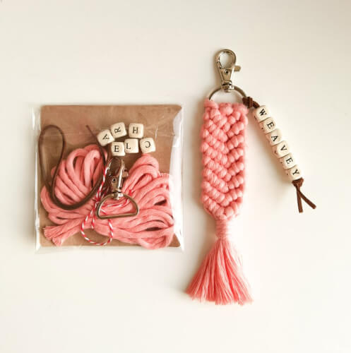 Personalised DIY Macrame Kit by CraftedbyMagical