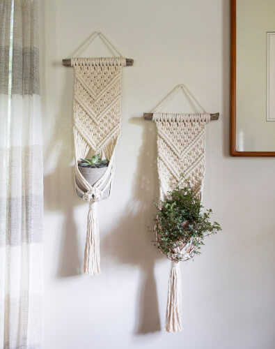 Plant Hanger DIY Macrame Kit from WillowandRosebud