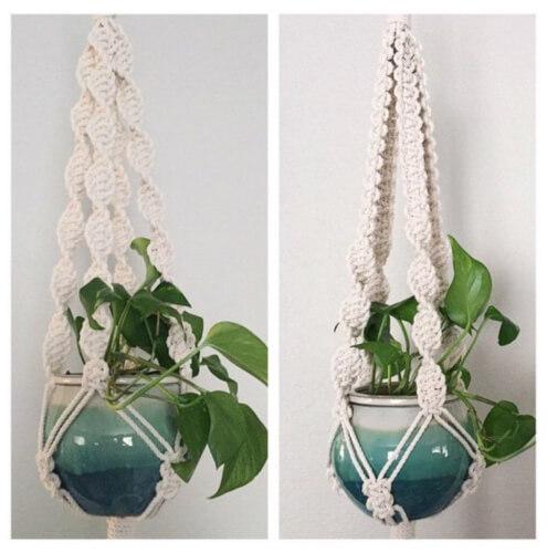 Plant Hanger Macrame DIY Kit from ReformFibers