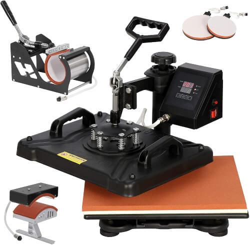 Pro Combo 5 in 1 Heat Press Machine