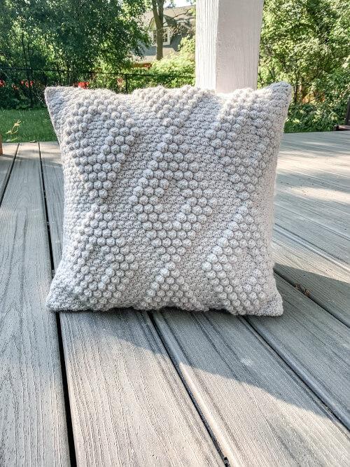 Rustic Crochet Pillowcase Pattern by DorrisAndLotte
