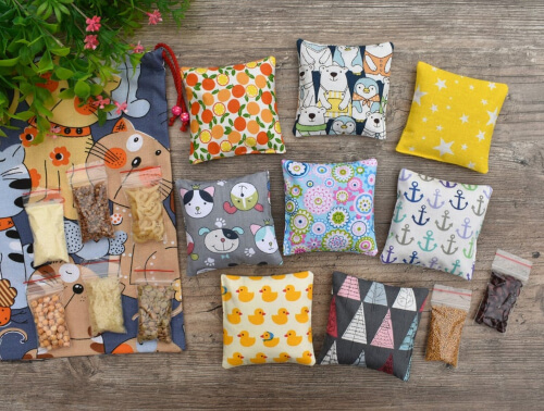 Sensory Bean Bag Pattern by FeltKids