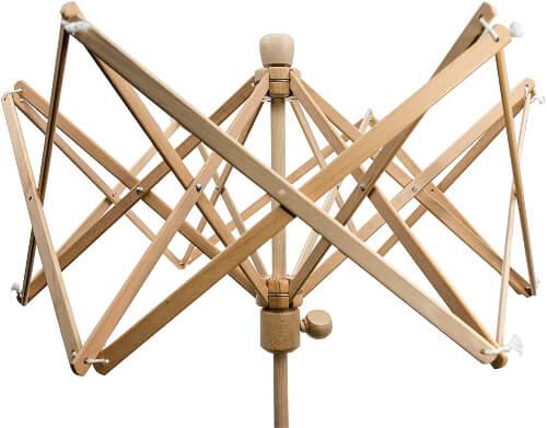Stanwood Needlecraft Wooden Umbrella Swift Yarn