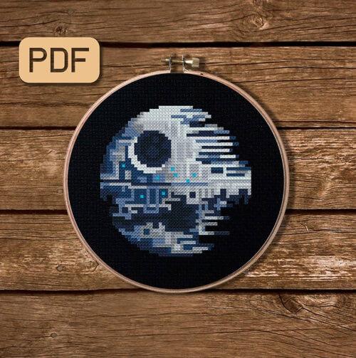 Star Wars Cross Stitch Pattern by AlitonEmbroidery