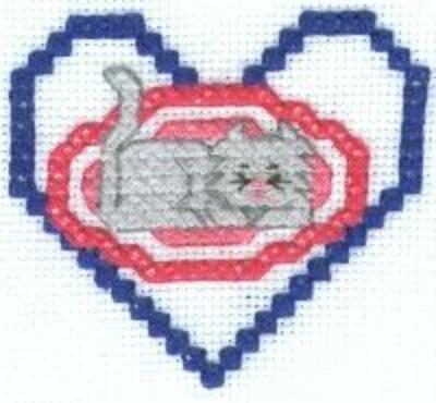 Whimsical Cat Cross Stitch Pattern on Better Cross Stitch Patterns