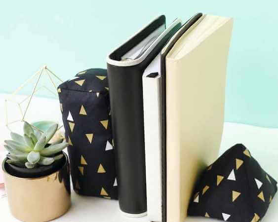 DIY Bookends by Gathered