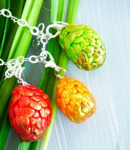 DIY Dragon Egg Charm Bracelet by The Socialites Closet