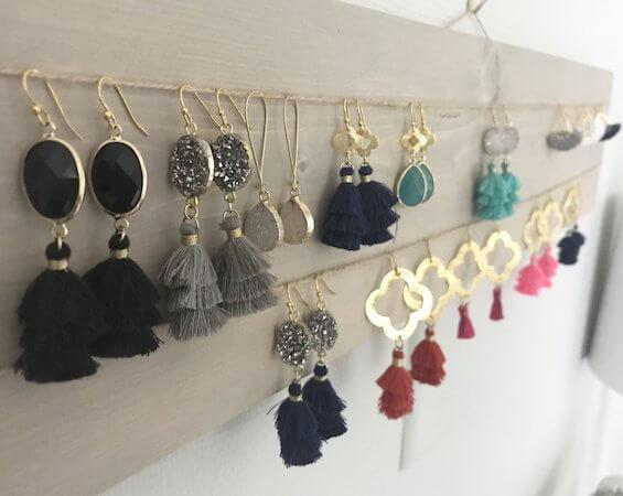 DIY Earring Display by Wondermint Goods
