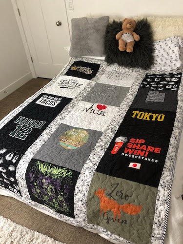 How To Make A Tee shirt Quilts by Tatertots And Jello