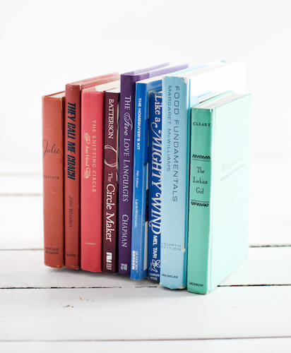 Invisible Bookends by A Beautiful Mess