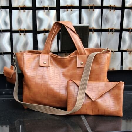 Leather Baby Bag Pattern by Kojo Designs