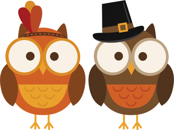 Owl Thanksgiving Clip Art by Clip Art Library