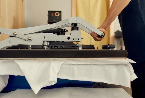 t shirt press machine