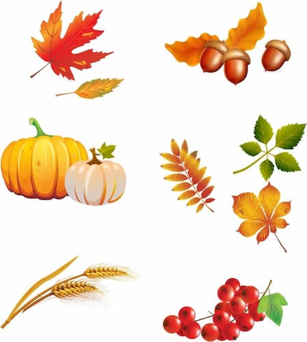 Thanksgiving Autumn Clip Art by Free Vectors
