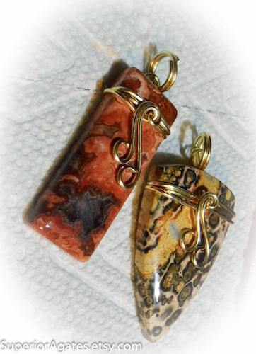 Wire Wrapped Stone by Superior Agates