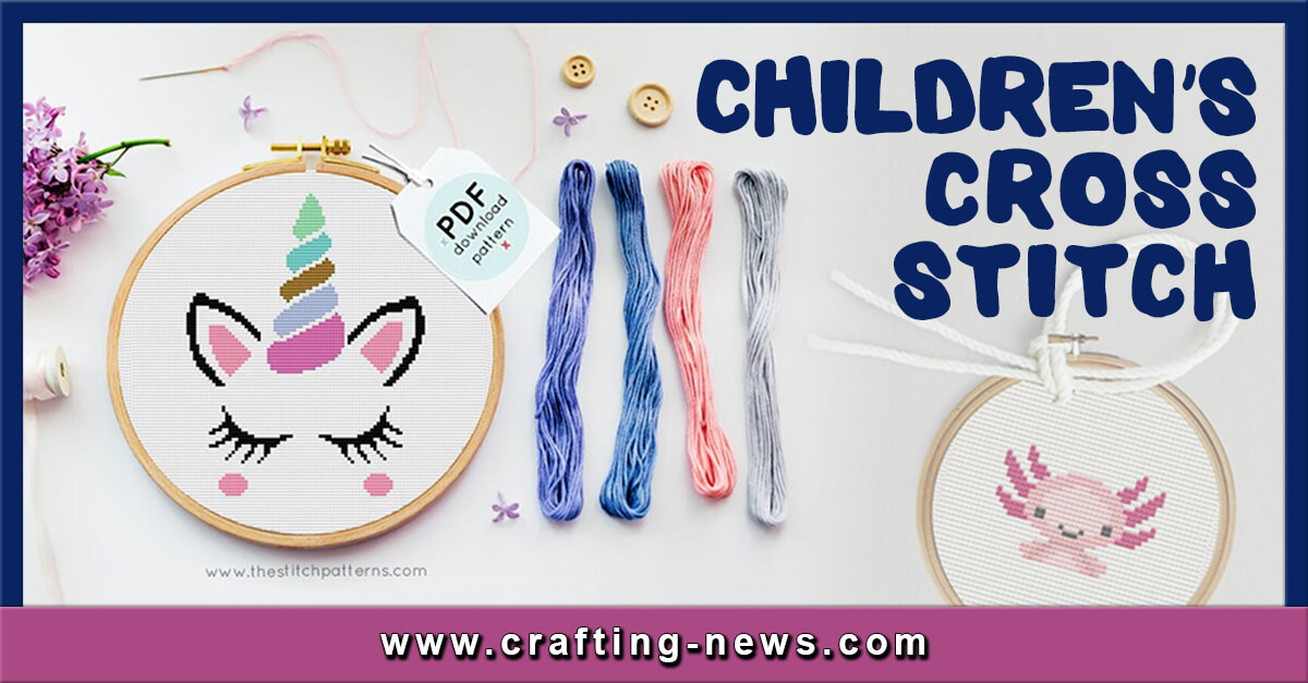 10 CHILDRENS CROSS STITCH