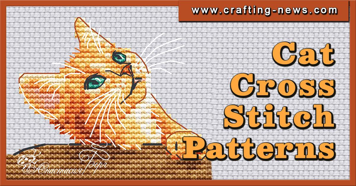 CAT CROSS STITCH PATTERNS