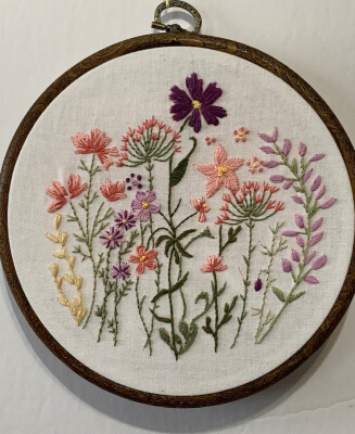 Beginner Embroidery Pattern by VickiNStitches