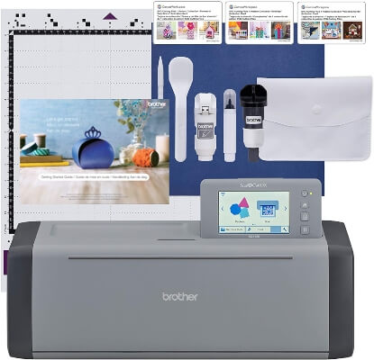 Brother ScanNCut SDX125EGY Electronic DIY Cutting Machine best vinyl cutting machine for 2021