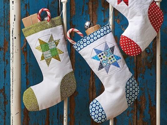 DIY Christmas Stockings by Gathered