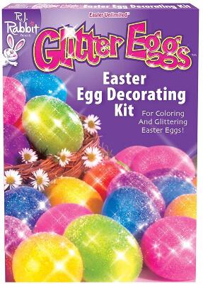 Fun World Glitter Easter Egg Paint Kit