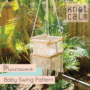 Macrame Baby Swing DIY Jhula Pattern