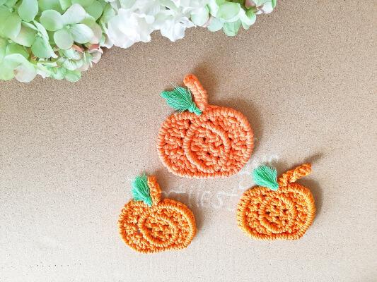 Macrame Pumpkin Coaster DIY Tutorial by SandysTextileStudio