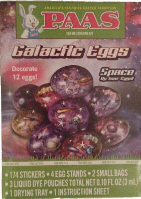 PAAS Galactic Eggs - Easter Paint Kit