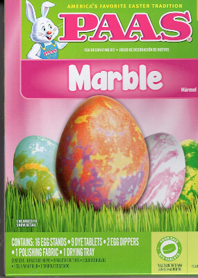 PAAS Marble Egg Coloring Kit