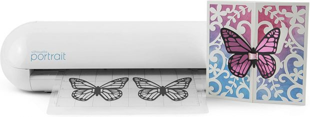 Silhouette Electronic Sticker Cutting Machine
