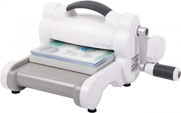 Sizzix Big Shot Starter Kit 661500 Manual Die Cutting & Embossing Machine