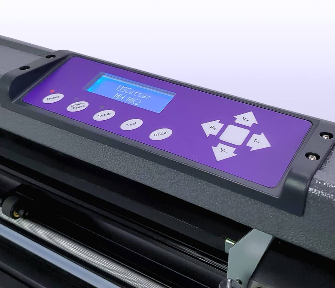 Vinyl Cutter USCutter MH 34in Bundle is a great vinyl printer cutter for commercial use.