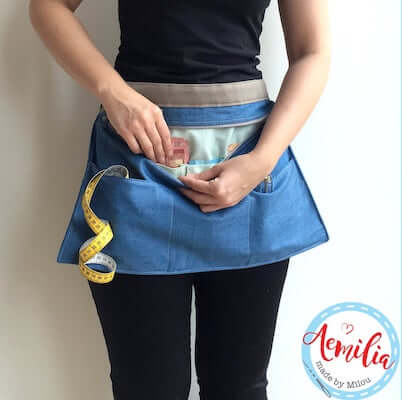 Chimera Craft Show Apron Sewing Pattern by Shop XOXO Lauren