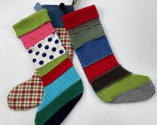 Christmas Stocking Pattern by Fibers And Twigs
