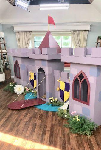 DIY Cardboard Castle by Scratch With Maria