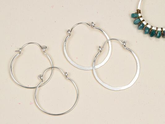 DIY Hoop Earrings by Artbeads