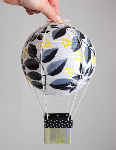 DIY Hot Air Balloon Party Decor by Best Friends For Frosting